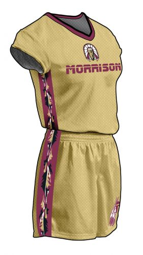 Warrior Solid with Inserts Sublimated Jersey - Women's