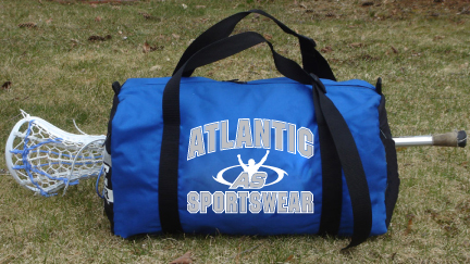 Atlantic Sportswear Custom Lacrosse Duffle Bag