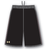 Under Armour Bolt Basketball Game Short - Men's
