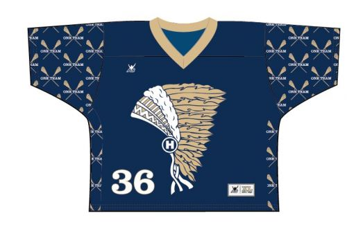 Atlantic Sportswear  Sublimated Lacrosse Jersey - Argyle Template