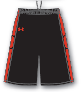 Under Armour Cutsom ArmourFuse Prevail Basketball Short - Men's
