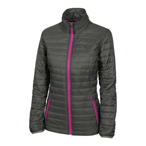 pink under armour jacket
