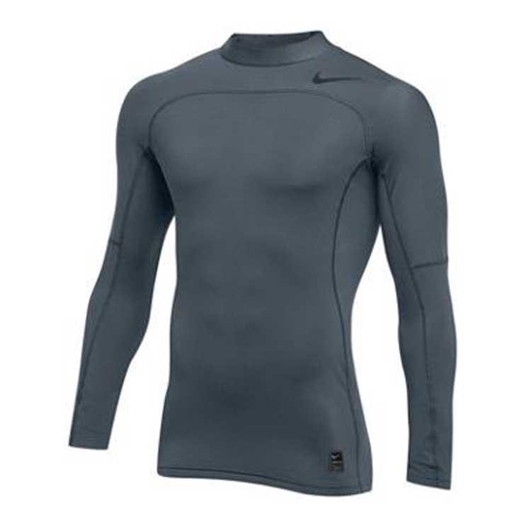 nike pro hyperwarm compression mock atlantic sportswear. Black Bedroom Furniture Sets. Home Design Ideas