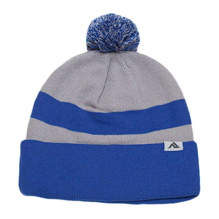 Pacific Headwear Loose-Fit Pom-Pom Knit Beanie