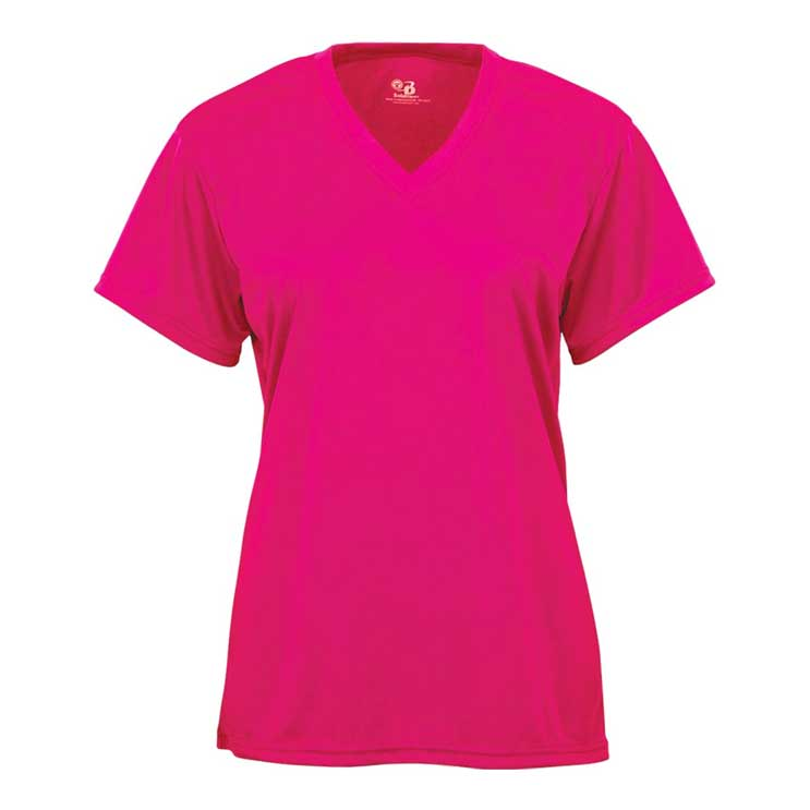 67e2f74db723e Badger B-Core V-Neck Tee - Women s - Atlantic Sportswear