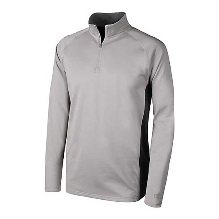 aeaeb1ee Champion Double Dry Colorblock 1/4 Zip Jacket. Lightweight performance ...
