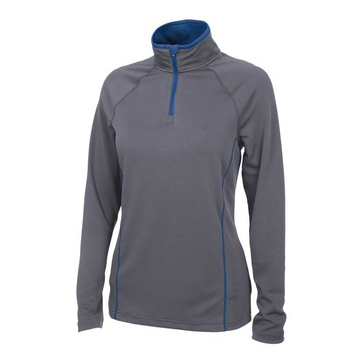 Charles River Apparel Mens Fusion Pullover Long Sleeve Quarter Zip