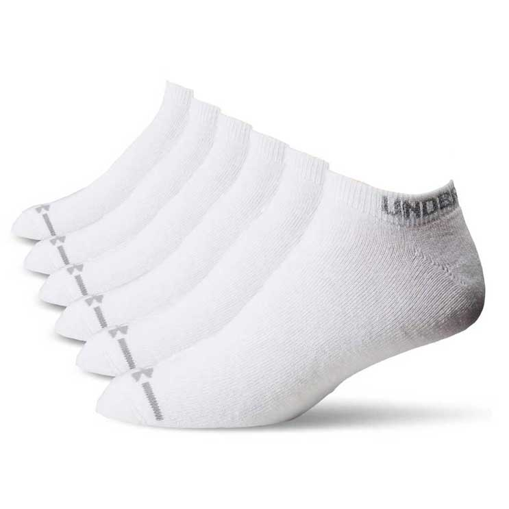 Under Armour Charged Cotton U2013 No Show Socks 6 Pack