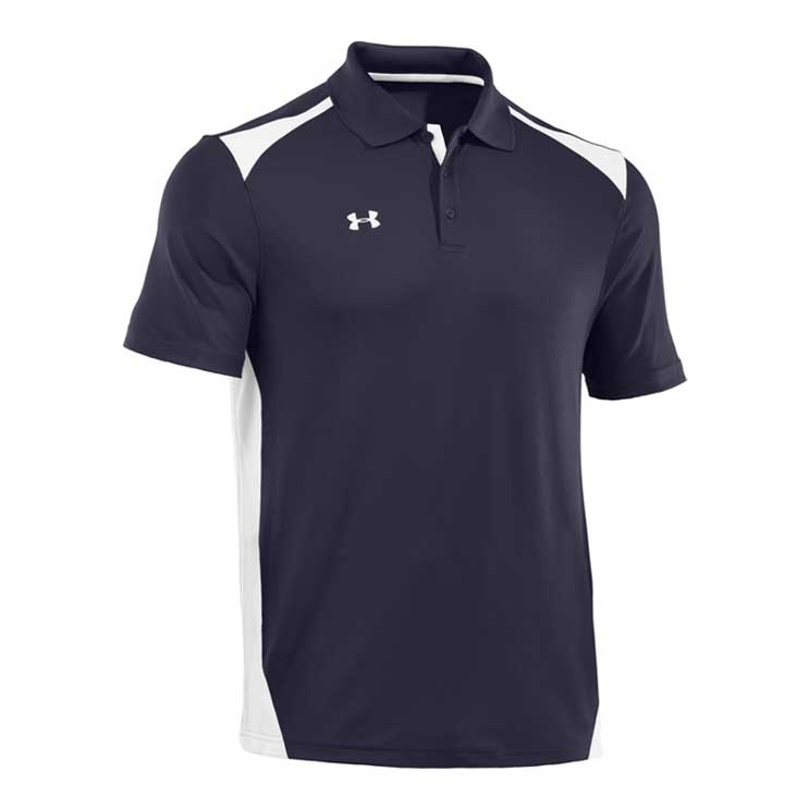 Under armour team color block polo atlantic sportswear for Under armour embroidered polo shirts