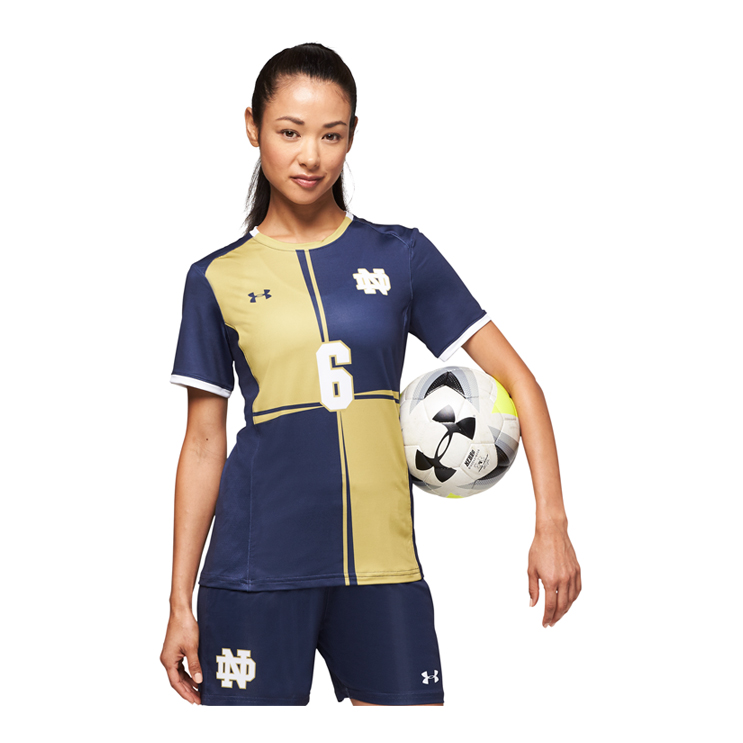 bbb865ff103 Under Armour Armourfuse® Crew Soccer Jersey - Women's - Atlantic ...