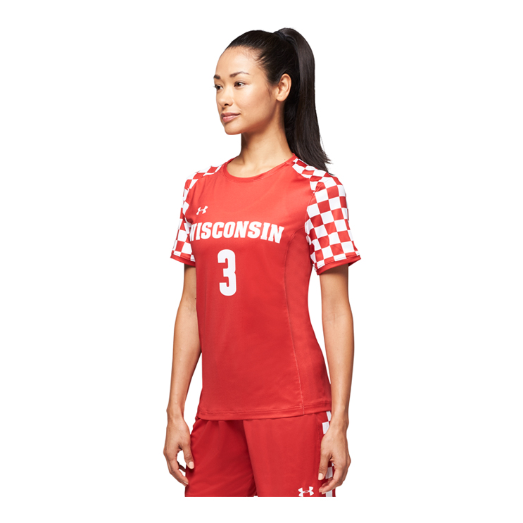 a0edf509c9c Under Armour Armourfuse® Crew Soccer Jersey - Women s - Atlantic ...