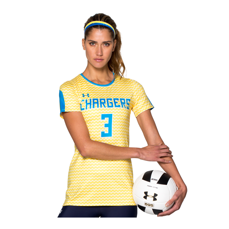 0369d708b ... Under Armour Armourfuse® Crew Shortsleeve Volleyball Jersey. ; 