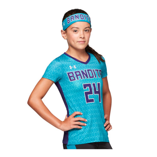 ebb728593 Under Armour Armourfuse® V-Neck Shortsleeve Volleyball Jersey ...
