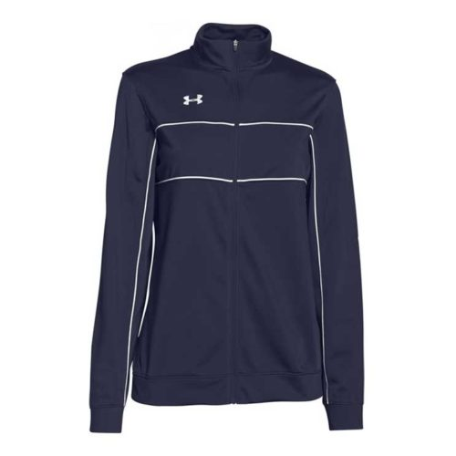 New Under Armour Rival Knit Full Zip Training Jacket Women/'s Royal Blue 1277159