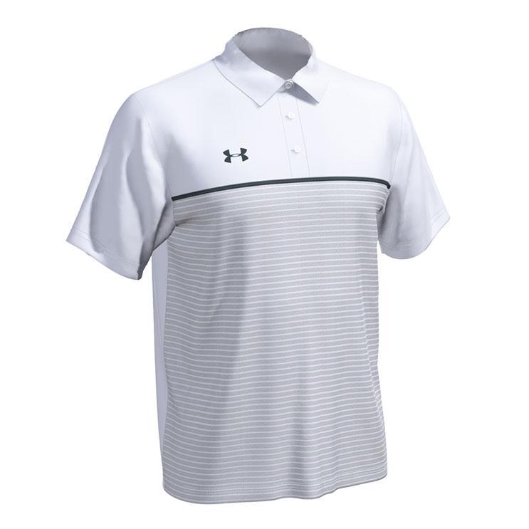 9dbbb0662 Under Armour Stripe Mix-Up Polo - Atlantic Sportswear