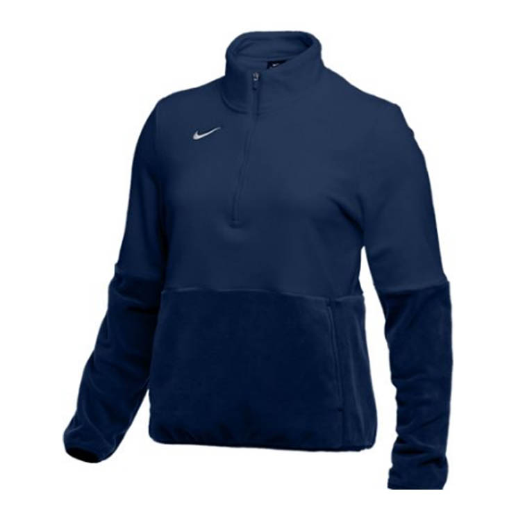 nike fleece zip jacket